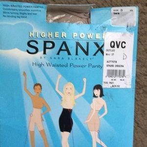 High waisted Spanx Power panty